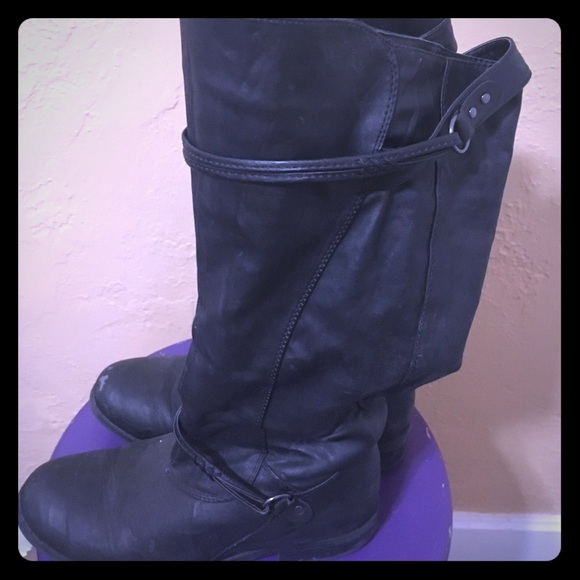 Journee Collection Shoes - JOURNEE COLLECTION Black, mid-calf 9